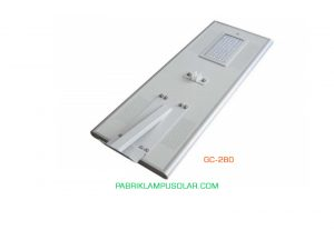 Lampu Jalan All In One 80 watt Model GC-280