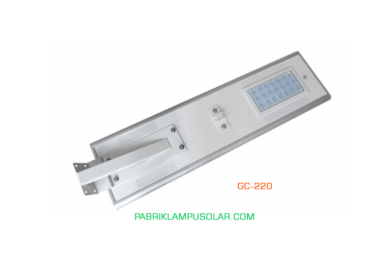 Lampu Jalan All in one 20 Watt Model GC-220