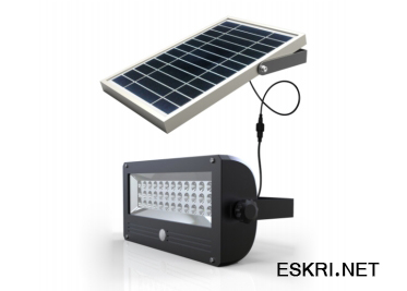 Solar PIR Security Light, RGB Solar Flood Light SML-01,02